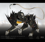 Metal Gear Rising Blade Wolf xps/xnalara model by LaceWingedSaby