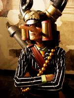 Puzzled Usopp by drwarumono