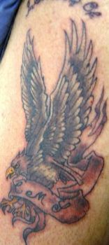 Eagle Tattoo by father-of-lies