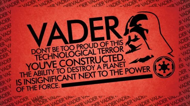 vader says by timonna