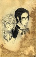 Grell + Claude by canaury