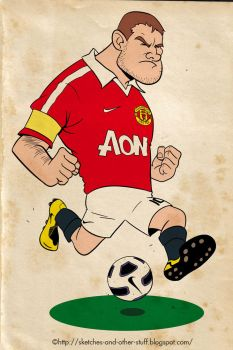 Wayne Rooney by dalf-rules