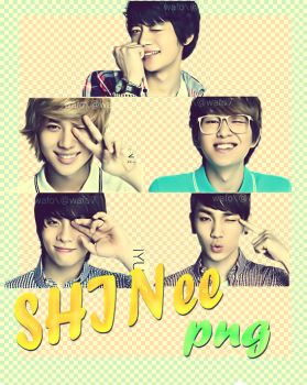 SHINee mypole PNG by wafo7