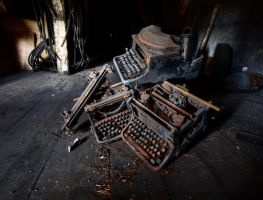 Dead Typewriters by AbandonedZone
