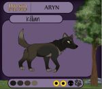 DotW Aryn Application - Killian by Renezmee