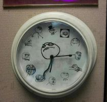 Epic clock! by MetallicaDutch