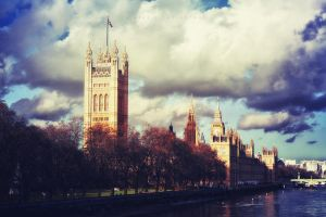 The Palace Of Westminster by caie143