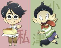Tatami Galaxy Stickers for AX by Pimmy
