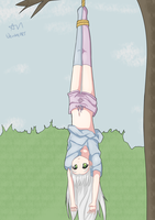 She Bit Me So I Tied Her To A Tree by AddictiveNightmare