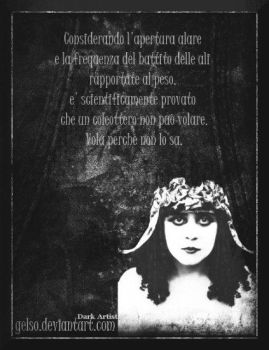 Theda Bara by Gelso