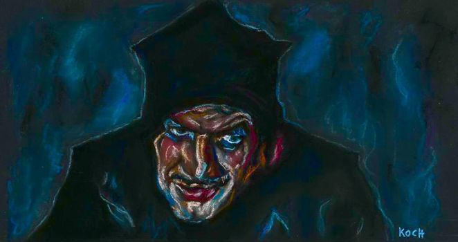Vincent Price/PIT AND THE PENDULUM by Roger Koch by tabongafan