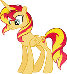 Princess Sunset Shimmer by DecPrincess