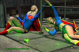 Supergirl supergirl peril by orionsforge