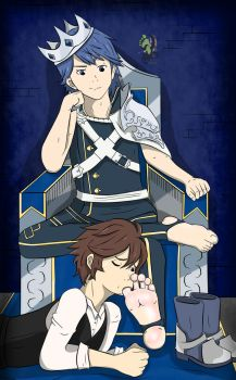 king Chrom divine toes by alan-underfoot