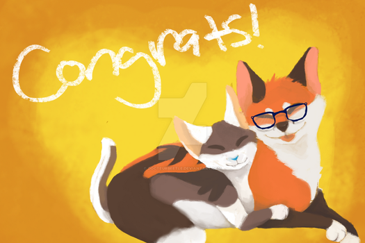 Congrats!!! by DocteurBeetle