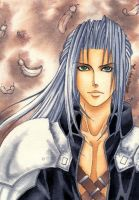Final Fantasy 7 AC Sephiroth by Lucifer-Michael
