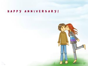Gift-Happy Anniversary by chronica