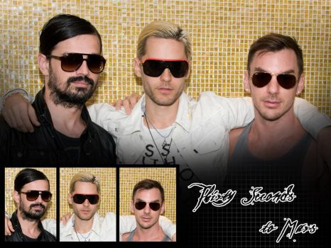 30 Seconds to Mars Wall 217 by martiansoldier