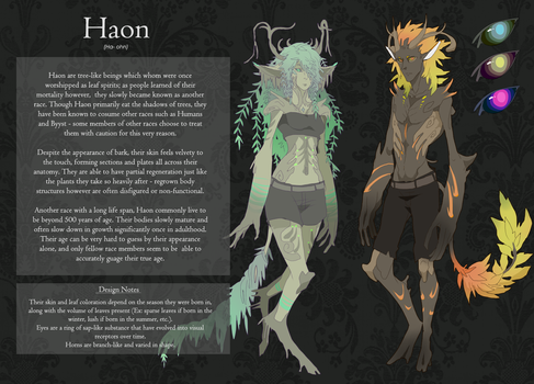 Haon Race Sheet by monokroe