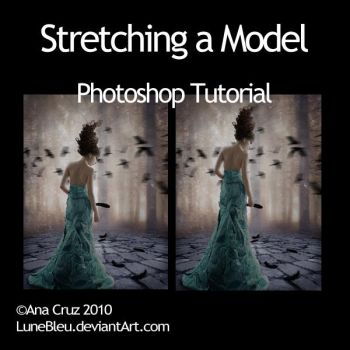 Stretching a Model - Tutorial by Lune-Tutorials
