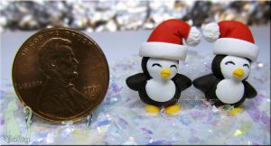 Sculpey Christmas Mini Penguins by Talty