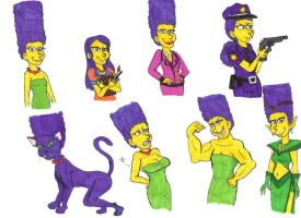 Lots of Marges by Violeta960