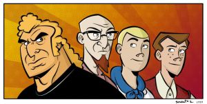 Venture Bros coloured by striffle