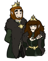 King and Queen of the Wolf Kingdom by Askthewerewolfprince