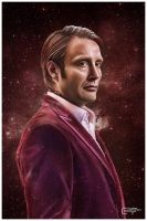 Hannibal Lecter - The Contracting Universe by thecannibalfactory