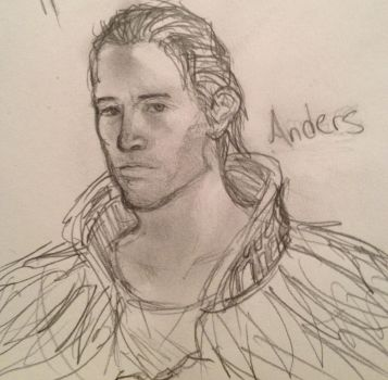 Anders - Dragon Age 2 by GrimAltair24