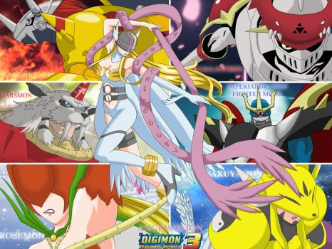 #sakuyamon | Explore sakuyamon on DeviantArt Sakuyamon Digimon World 3