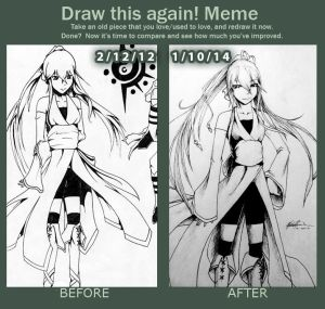 Draw This Again Meme: 2012-2014 by LyricaDreams