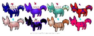 Colourful Wolfie Designs! -- OPEN by HComet