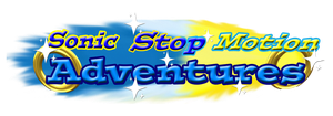 Sonic Stop Motion Adventures Logo by piplup-fan-77
