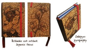 Refiliable Cork Notebook by ChibiPyro