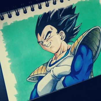 Vegeta one more time by Koteck
