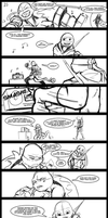 Rough/WiP- 'Life's Too Short' Song Comic Part 1/2 by R2ninjaturtle