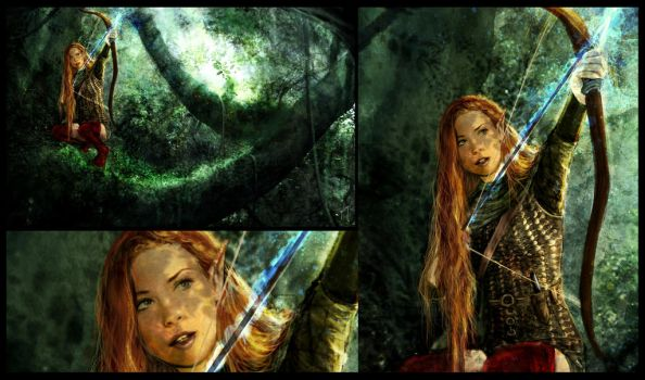 Elve forest by EngendrARTE