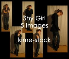 Shy Girl 2 by kime-stock