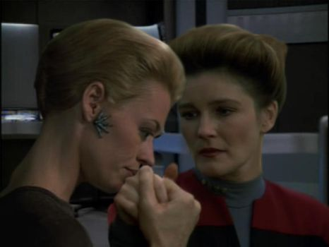captain janeway and seven of nine relationship test