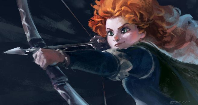 Brave - Merida by Benlo