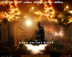 Dark Knight Rises - Theatrical by XxPointlessThingsxX