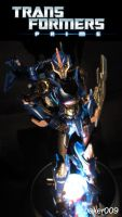 Transformers Prime Arcee pose by Baker009