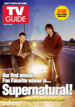 Supernatural TV Guide Cover by theraggles