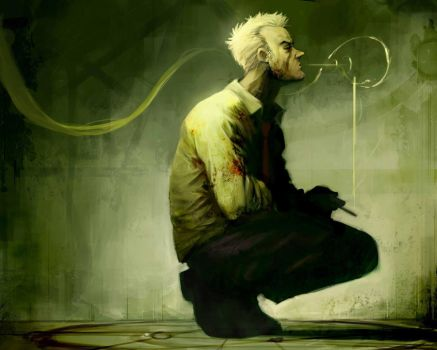 Commission Hellblazer Fanart by Reza-ilyasa
