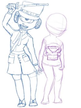 P5 E and Zora WIP by Jazzds