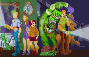 Scooby Doo Crew Redesign by mannycartoon