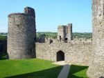 Kidwelly Castle Inside - 1 by bobswin