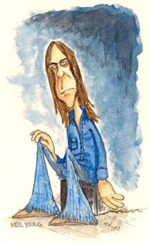 Neil Young by Downonthefarm