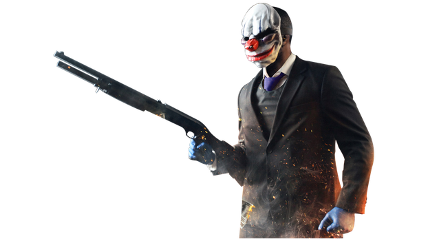 Payday 2 - Chains render by Solar11pro